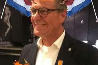 Onze voorzitter een lintje!